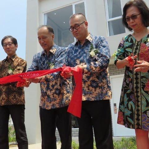 Seragam Batik Fractal untuk SAVASA Deltamas Panasonic
