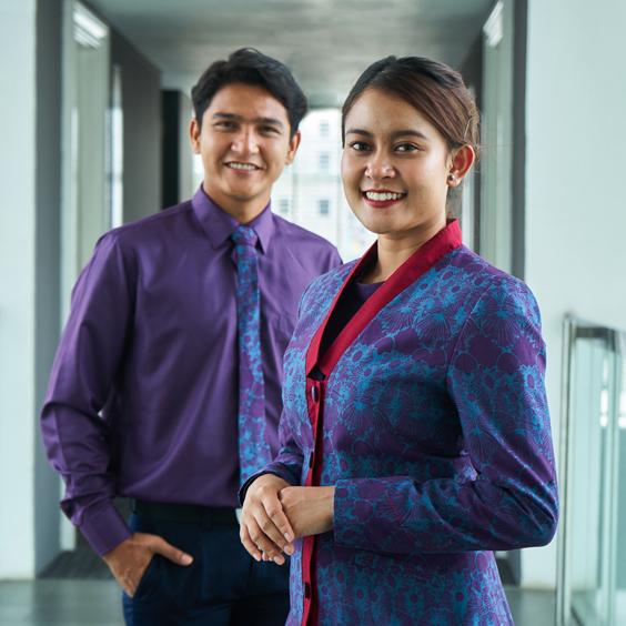Sisik Siki Frontliner Batik Fractal Uniform