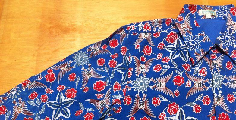 Kemeja Batik Fractal untuk @america
