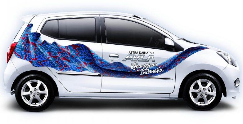 Batik Fractal untuk Daihatsu