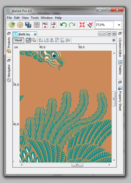 jBatik Technology Software Batik