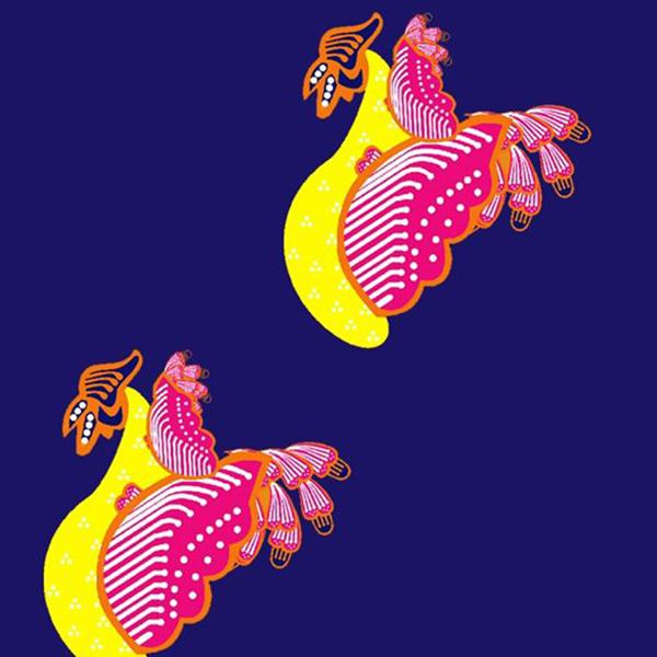 Motif Batik Fractal Angso Duo