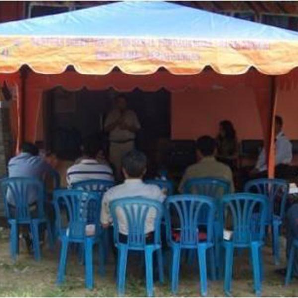 Workshop Batik Fractal di Pekalongan