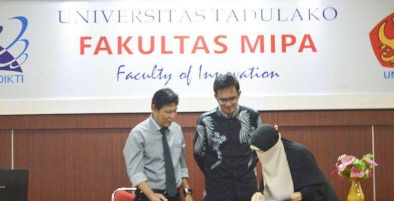 Kerjasama Batik Fractal - Universitas Tadulako