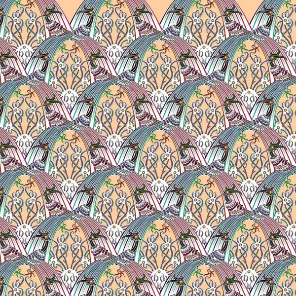 Thumbnail Motif Batik Fractal Enggang Ngibing Putih