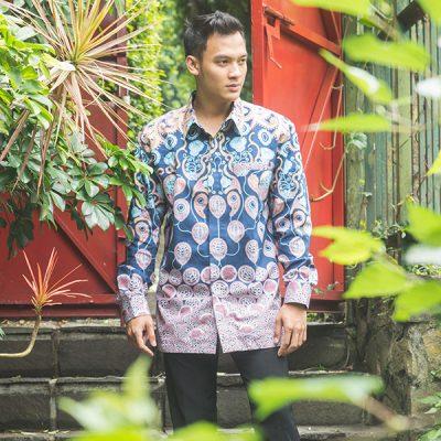 Sawunggaling Galar Long Sleeve Shirt Batik Fractal Uniform