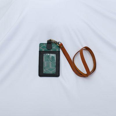Green Gendhaga Baron LUGGAGE 3 Lanyard Batik Fractal Merchandise