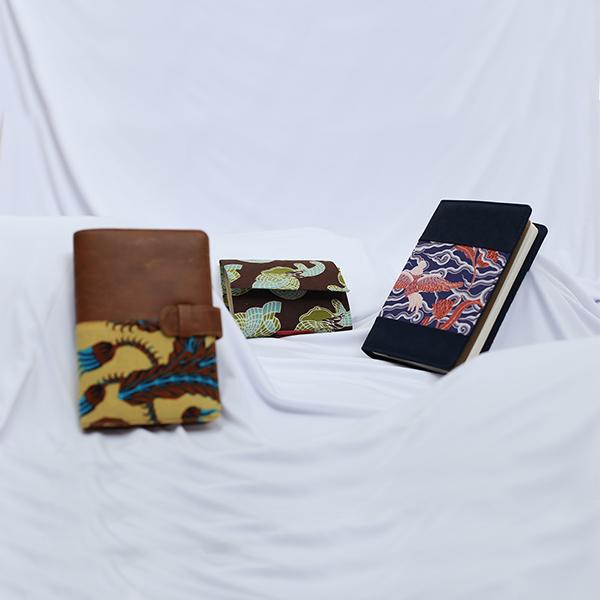 NOTEPAD Batik Fractal Merchandise