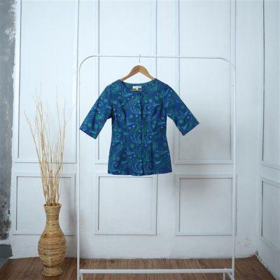 Sawunggaling Antakusuma Short Sleeve Shirt Batik Fractal Uniform