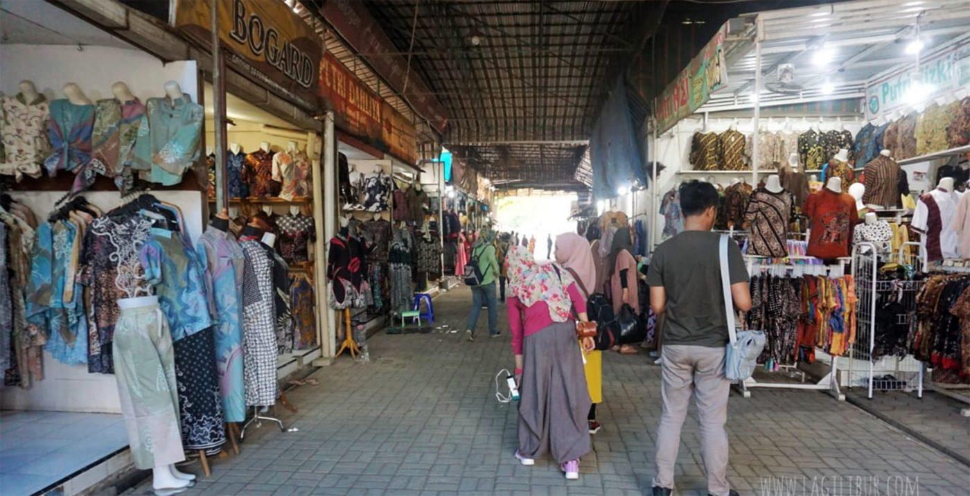 Pasar Batik di Pekalongan