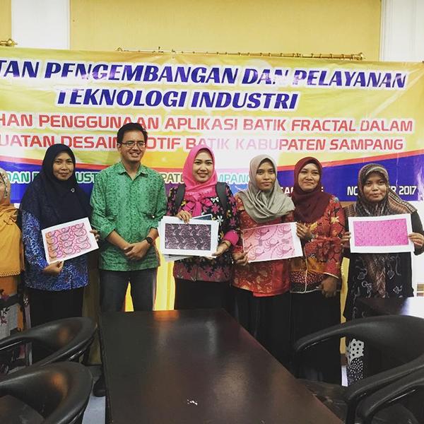 Workshop jBatik bersama Pengrajin Batik Sampang, Madura