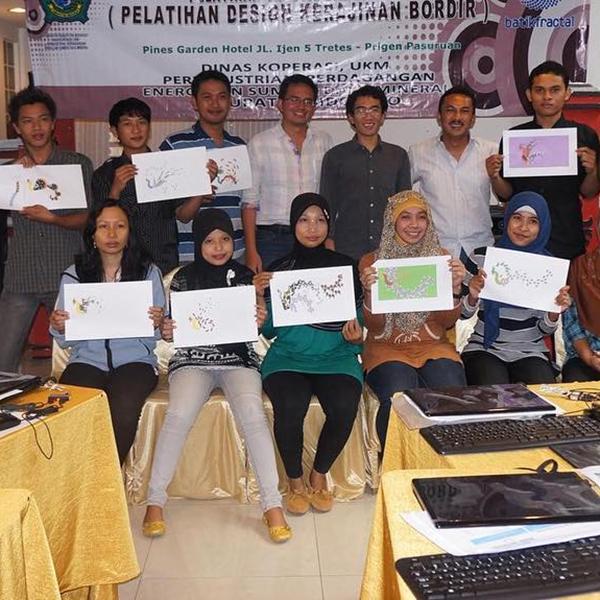 Workshop jBatik bersama Pengrajin Sidoarjo