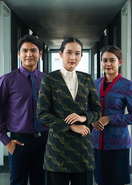 Seragam Batik Fractal