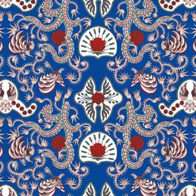 Thumbnail Motif Batik Fractal Wahyu Tumurun Biru