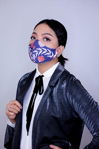 Ananta Kusuma Batik Fractal Mask