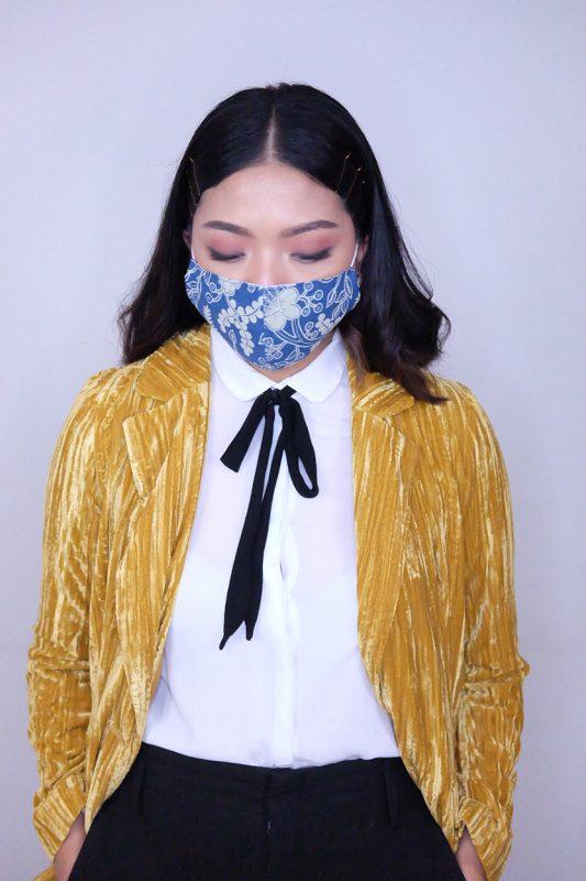 batik fractal mask kembang telang 3