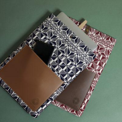 Laptop Case Batik Fractal Merchandise 02