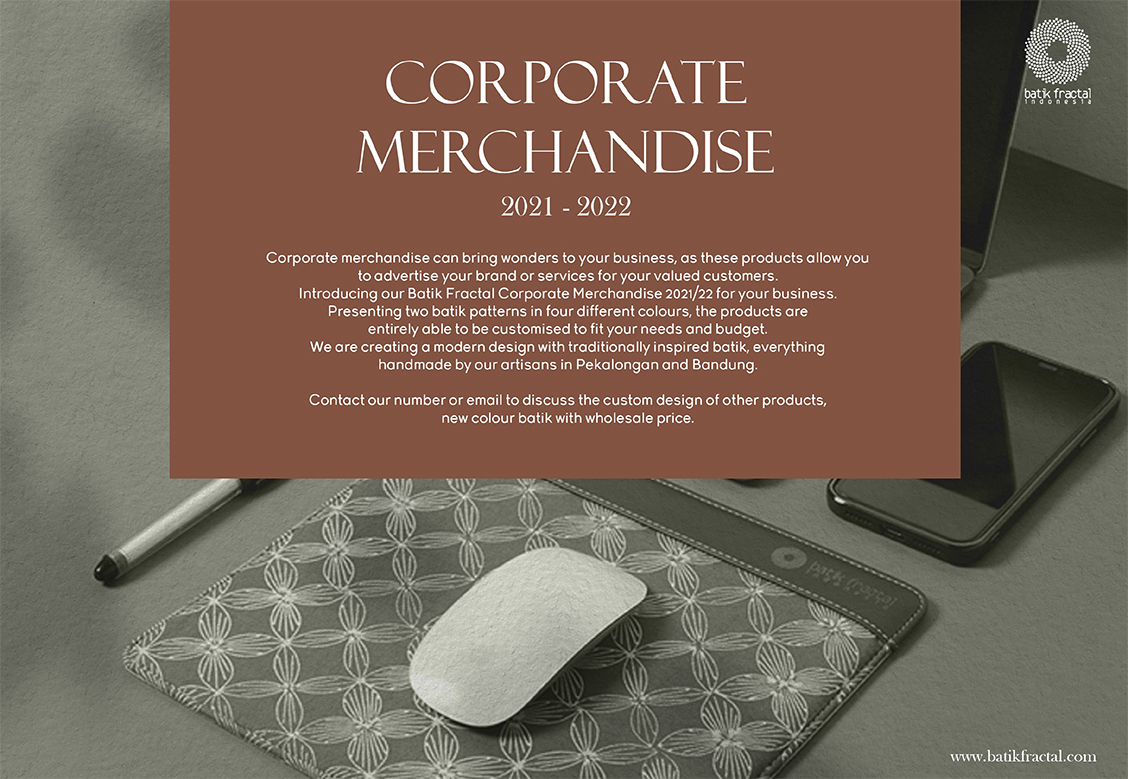 Corporate Merchandise Catalogue Batik Fractal 2021-22-1