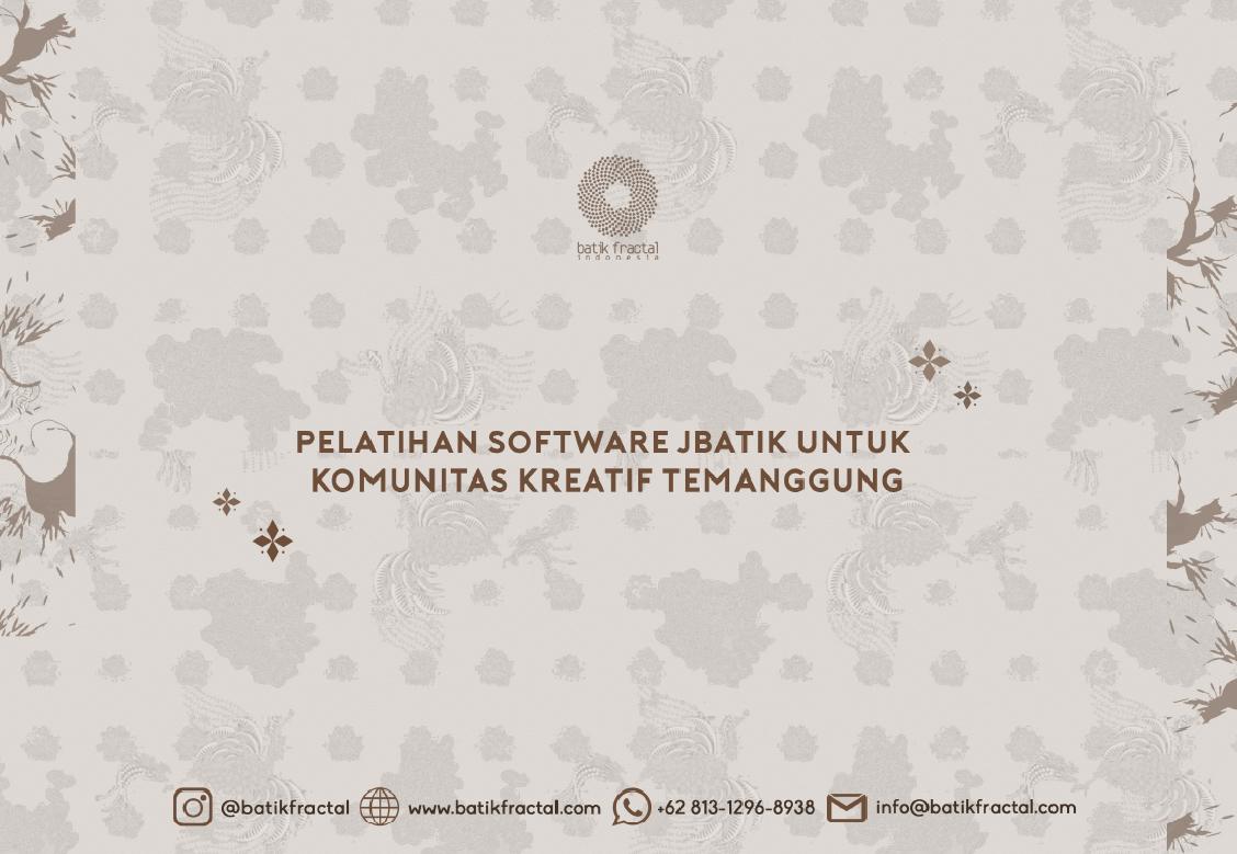 Pelatihan Software jBatik untuk Komunitas Kreatif Temanggung-1